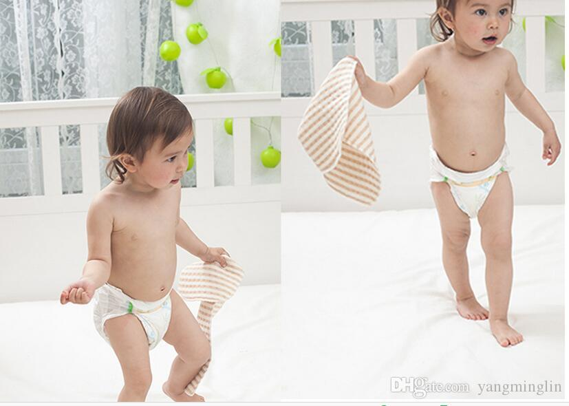 Reusable Baby Diapers Organic Cotton Cloth Diapers Washable Nappy Baby Products Unisex Diapers for Newborn Infant