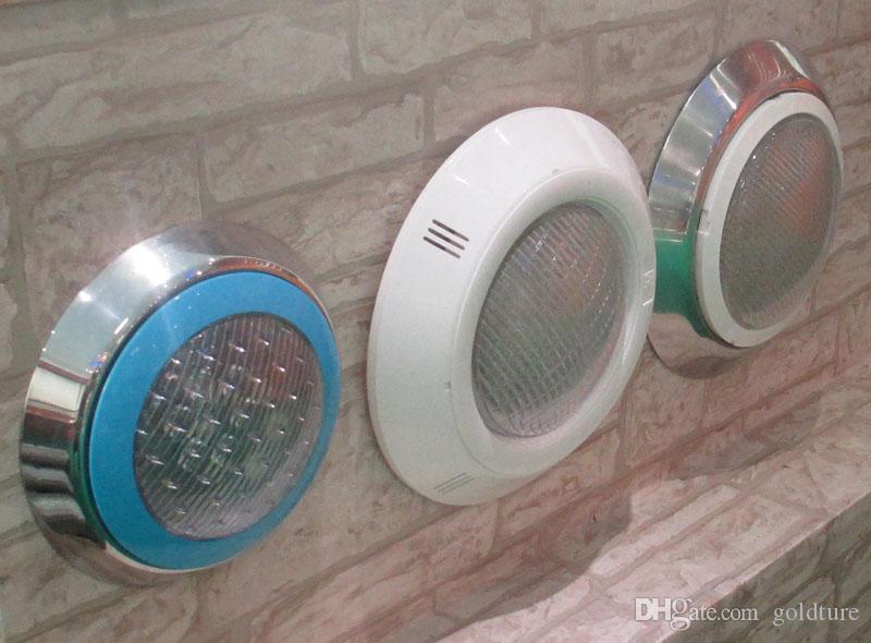 Lampada da parete a LED piscina 12V Lampada subacquea da 24W RGB sincrona con telecomando