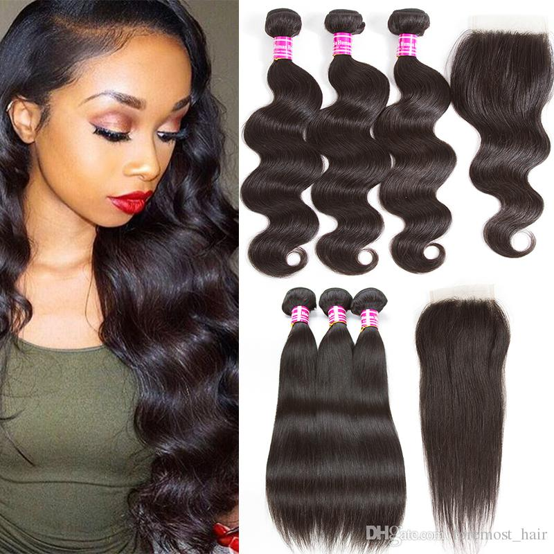 2018 New Arrival Foremost Remy Human Hair Weave Bundles Brazilian