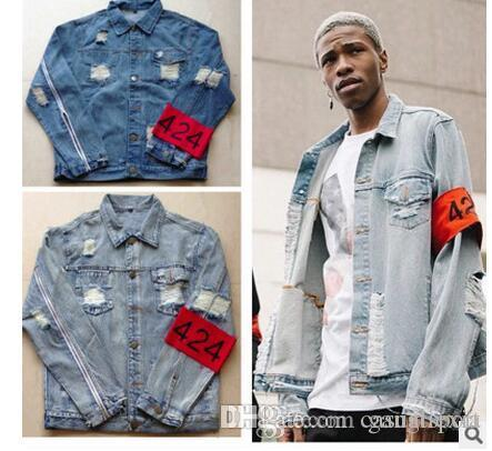 New Arrival Lover Casual Jeans Jacket Denim Biker Jacket For Men