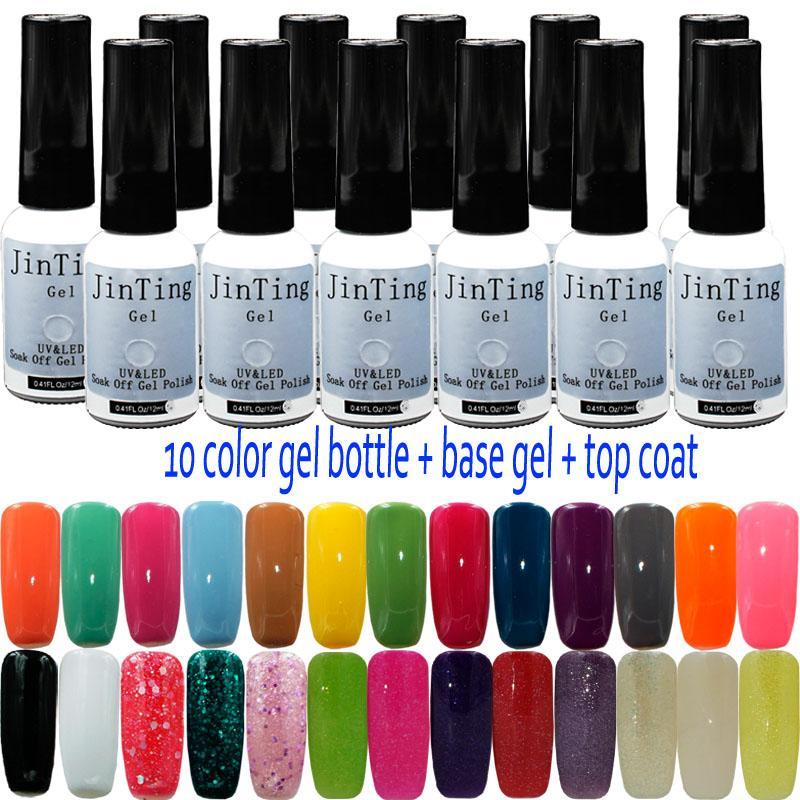 Wholesale Jinting 10ml Long Lasting Nail Polish Color Gel 10 Bottle ...