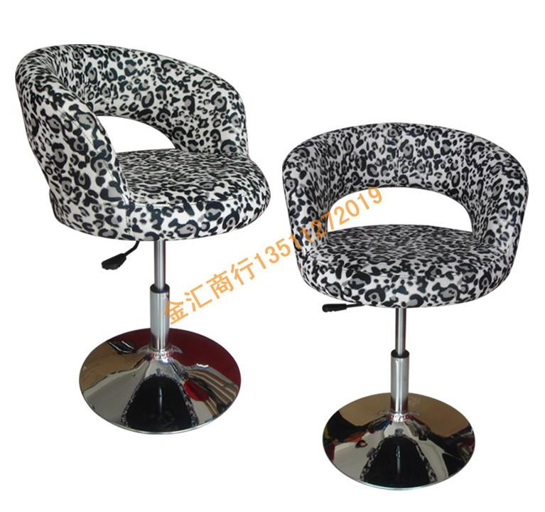 The New Special Computer Chair Bar Stool Lift Swivel Leopard Lounge  Continental From China Commercial Furniture Seller Qiangqiangqwe |  Dhgate.Com