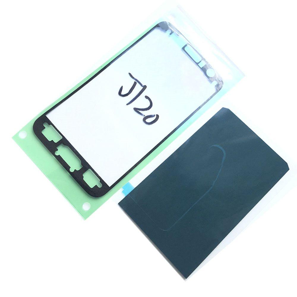 Hight Qualité Original Logement Logement Ruban Adhésif Colle Pour Samsung Galaxy J1 J120 LCD Cadre Avant Autocollant Livraison Gratuite