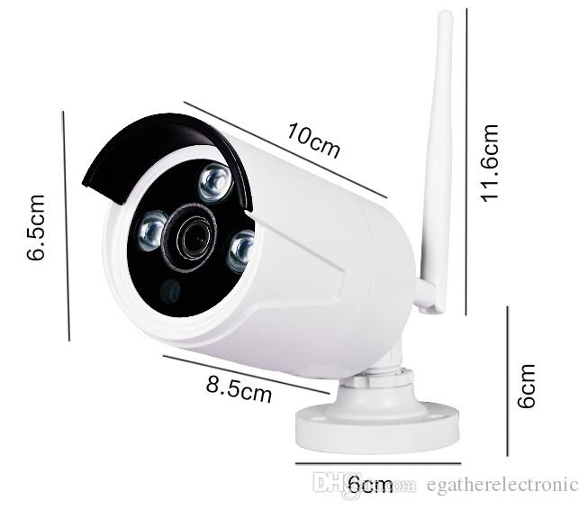 Wireless 4CH CCTV System Wifi NVR Kit IP Camera Outdoor And Indoor VandalProof Dome Camera Wifi 1080P NVR Set
