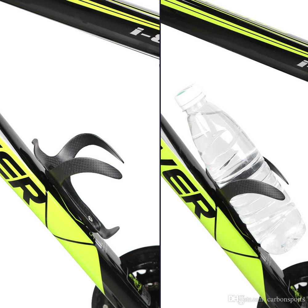 Cycling Full Carbon Fiber Water Bottle Cage MTB Road Bicycle Bottle Holder Fixed Gear Bicycle Accessories