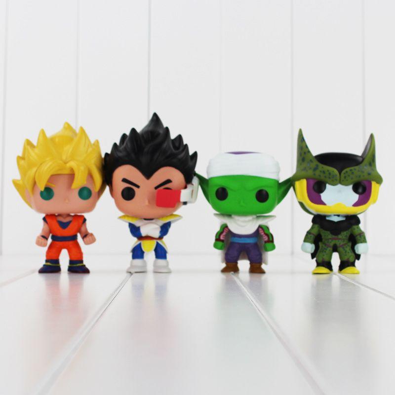 Funko pop dragon ball z sohn goku vegeta piccolo zelle pvc action figure sammeln modell spielzeug einzelhandel
