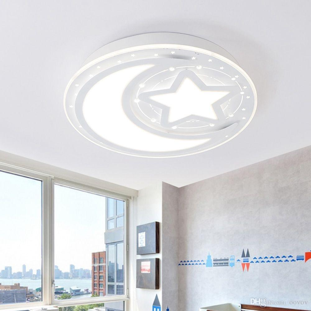OOVOV 24W LED Moon Star Plafoniera 40cm 16