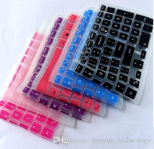Silicone Keyboard Cover Skin for Dell Inspiron 15-3542/5547/1528/15C 3000 Series Colorful Keyboard Covers Laptop