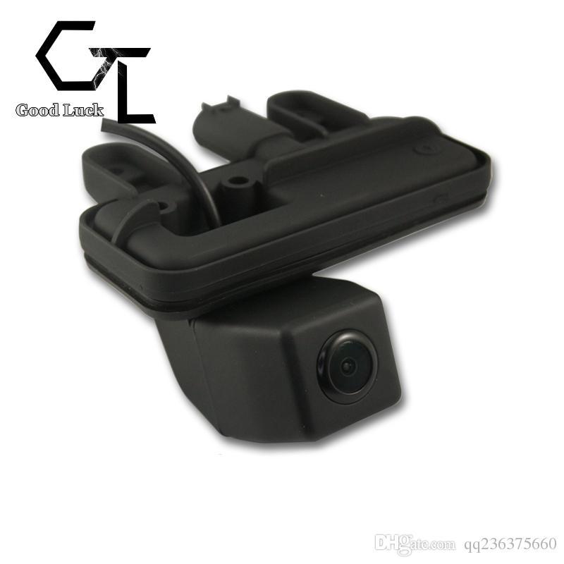 For Mercedes Benz E Class C207 W207 E200 E260 E300 E350 E63 trunk handle Wireless Car Auto Reverse Backup CCD HD RearView Camera