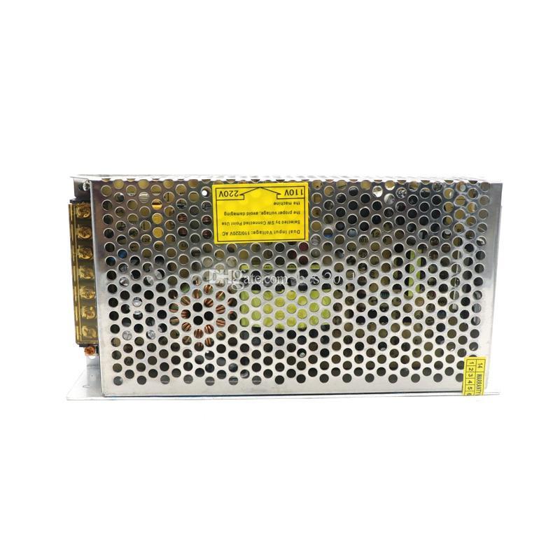 DH puerta 12 Aniversario Promociones 200W 12V 16.5A Interruptor Fuente de alimentación Adaptador Adaptador Voltaje Transformador para Led Strip Light Display
