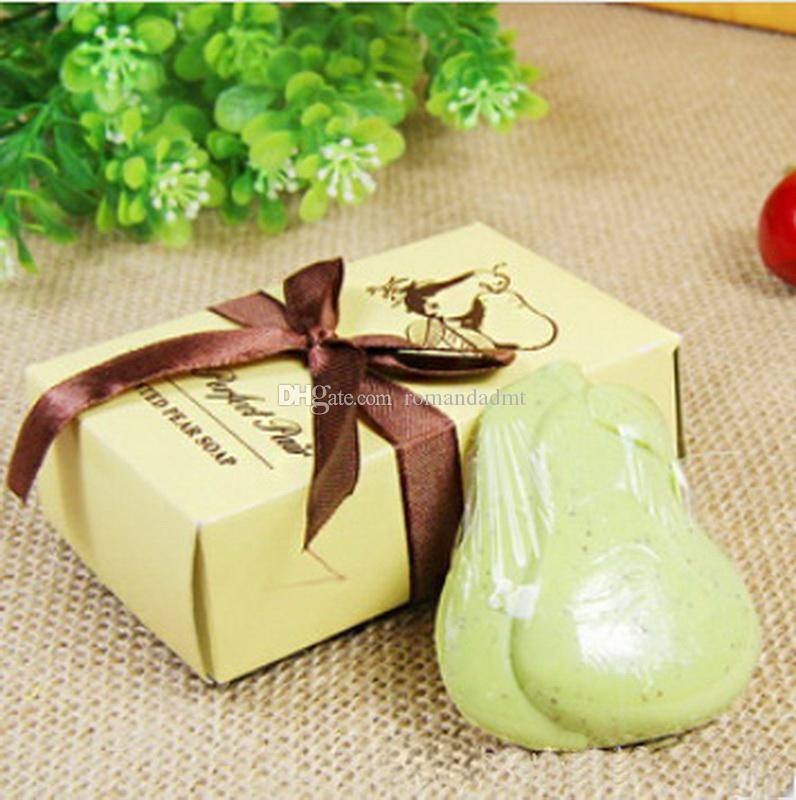 Wedding Favors The Perfect Pair Scented Pear Soap Decorative Baby
