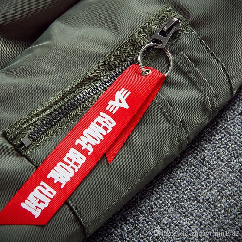 Vente chaude Ma1 Bomber Jacket Big Sam Kanye West Yeezus tour pilote-vêtement homme armée verte Merch manteau de vol