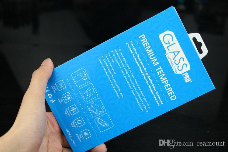 Scatola di imballaggio del pacchetto di carta universale personalizzato il pacchetto di imballaggio il telefono cellulare del vetro temperato di protezione dello schermo
