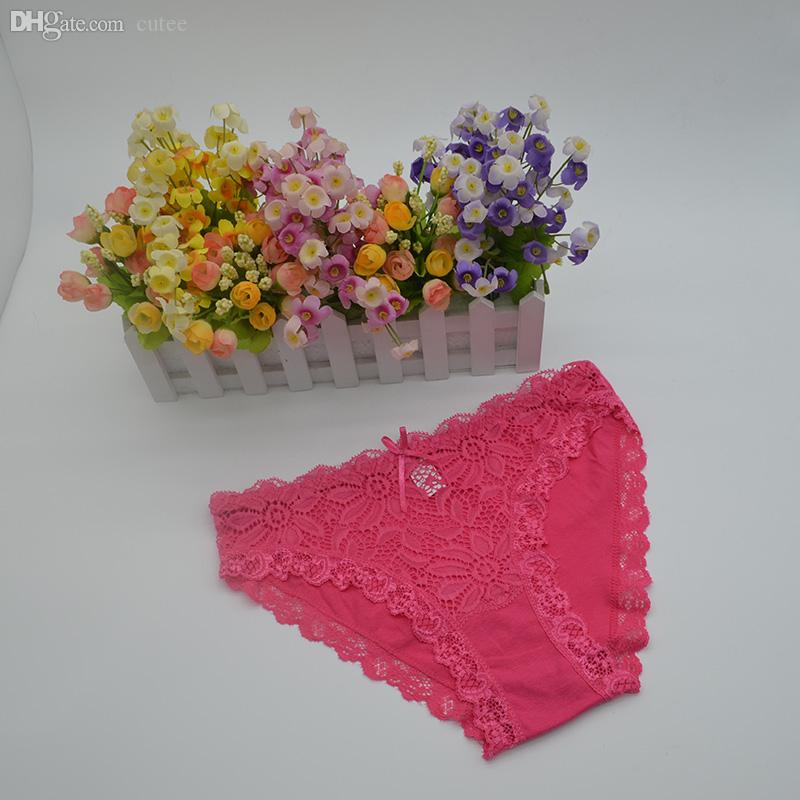 Wholesale-High Quality Women Sexy Nylon Panties Solid Color Low ... 422ad6c6c