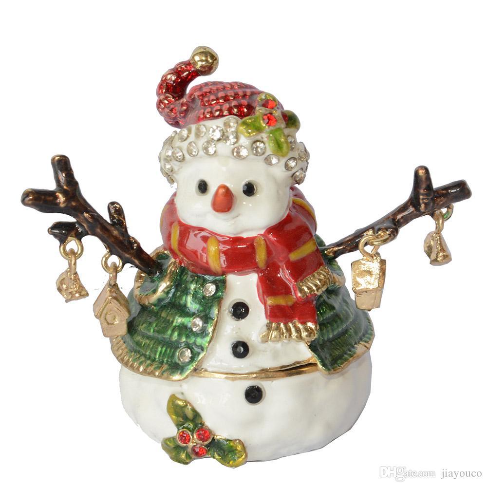 Großhandel Schneemann Schmuck Schmuckschachtel Weihnachtsgeschenke ...