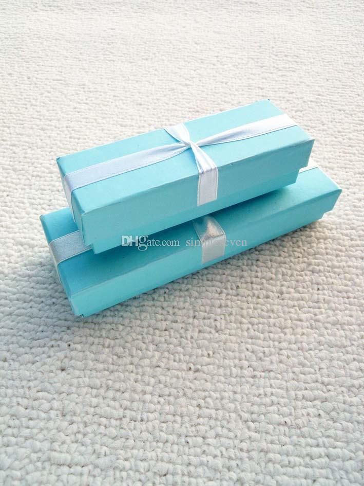 [Semplice Sette] / Bracciale display Exquisite Blue Sky Jewelry Box / cavigliera Cassa / collana scatola / confezione regalo i monili delle donne piccolo
