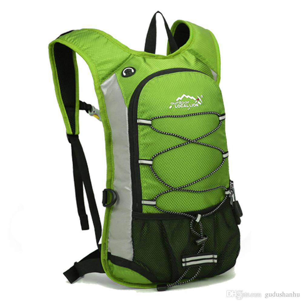 12L Ultralight Waterproof Bicycle Hydration Water Bag Sport Outdoor Cycling Riding Travel Mountaineering Backpacks 60