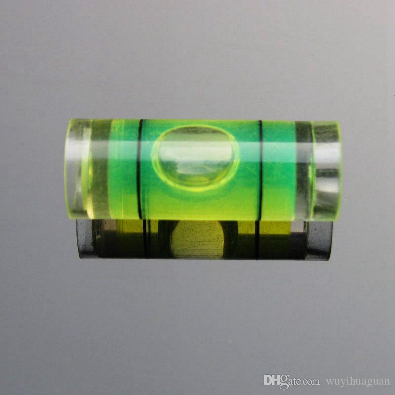 50 قطعة / الكثير 9.5 * 25 مم البلاستيك فقاعة المستوى فقاعة المستوى فقاعة المستوى للصورة أداة قياس مستوى الإطار