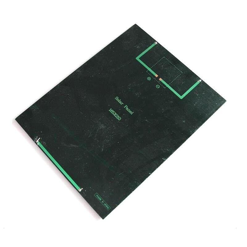High Quality! 5.2W 6V Solar Cell Module Polycrystalline Solar Panel DIY Solar Charger 210*165*3MM
