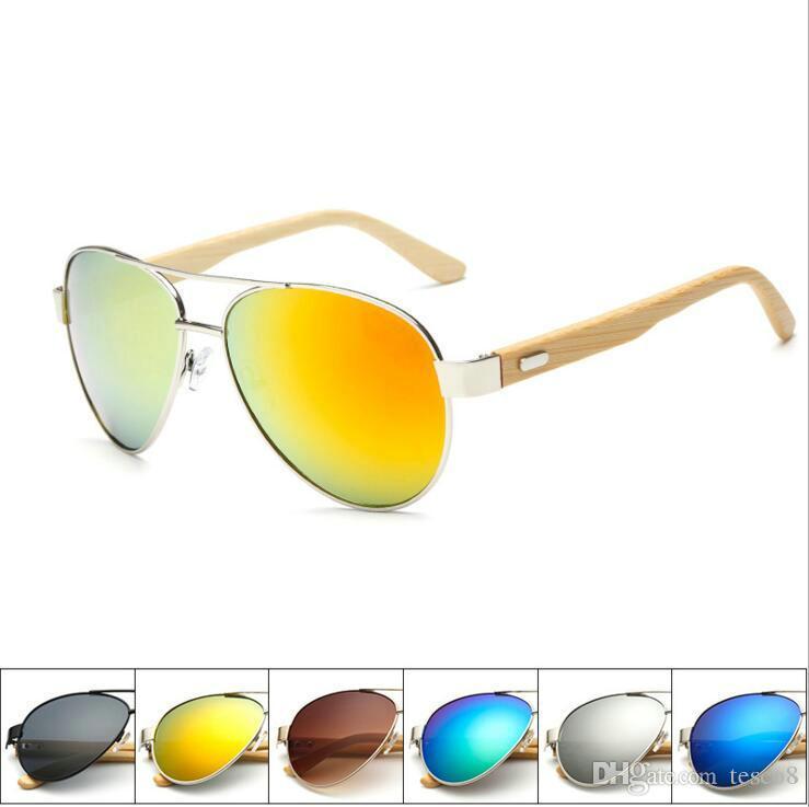 e04981a7cb Hot Selling Outdoor Travel Bamboo Foot Fashion Sunglasses Men Women ...