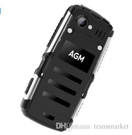 الأصلي AGM M1Tri الهاتف 2.0Inch IP68 للماء 3G WCDMA 128MB + 64MB الهاتف المحمول 2750mAh المزدوج سيم بطاقة 2.0MP الغبار الساخن بيع