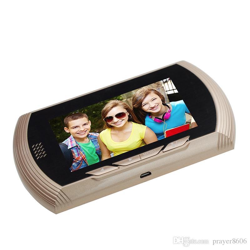 product vision degrees viewer doors motion peephole camera night detection pir silve video door doorbell
