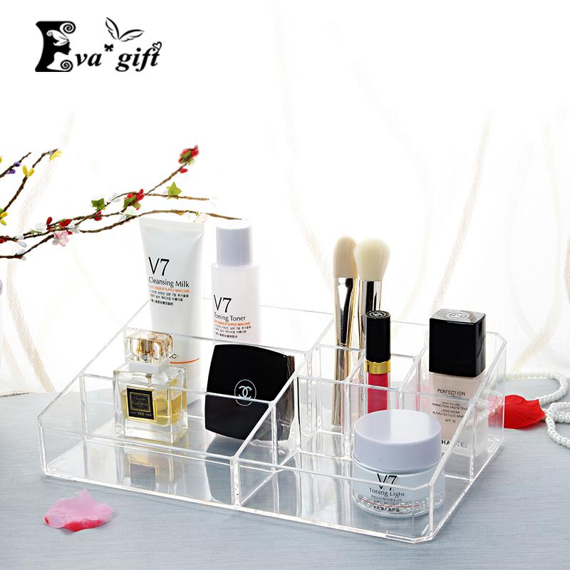 Exceptionnel 2018 Crystal Acrylic Cosmetic Organizer Box Cosmetic Storage Box For Woman  Makeup Display Box Stand Rack Holder Organizer Toilet Case Q171126 From ...