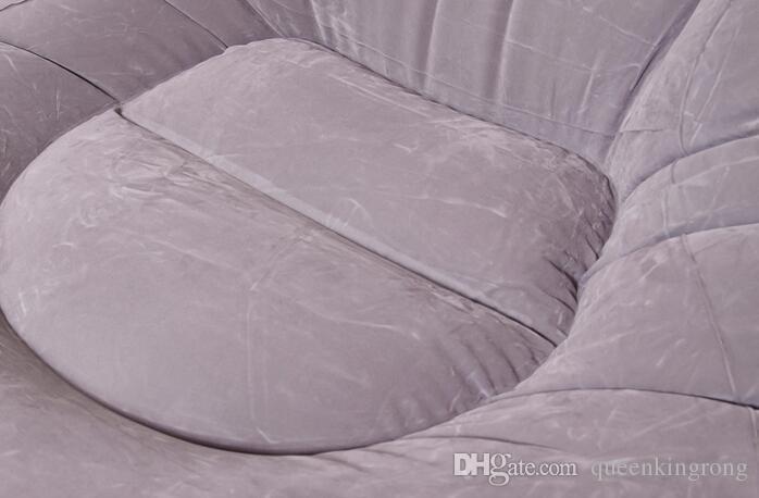 접이식 레저 풍선 게으른 점심 세트 소파 레저 페달 발판 침대 현대 의자 소매 상자 가구 큰 크기