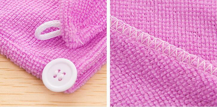 Sihirli mikrofiber süper emici hızlı kuru saç havlu bayanlar duş banyo havlusu saç wrap kap 60 * 22 cm ücretsiz kargo
