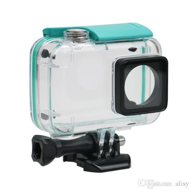 Водонепроницаемый корпус корпуса для Xiaoyi 4K спортивная камера 45M водонепроницаемая защитная защитная корпус для Xiaoyi Action Camera