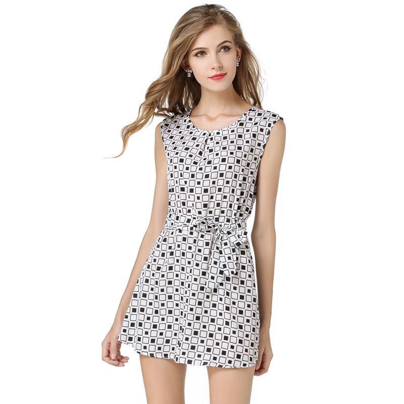 polka dot women dress casual work dress plaid o neck porm club travel party sexcy chiffon mini white plus women party beach vestidos t shirt dresses cheap