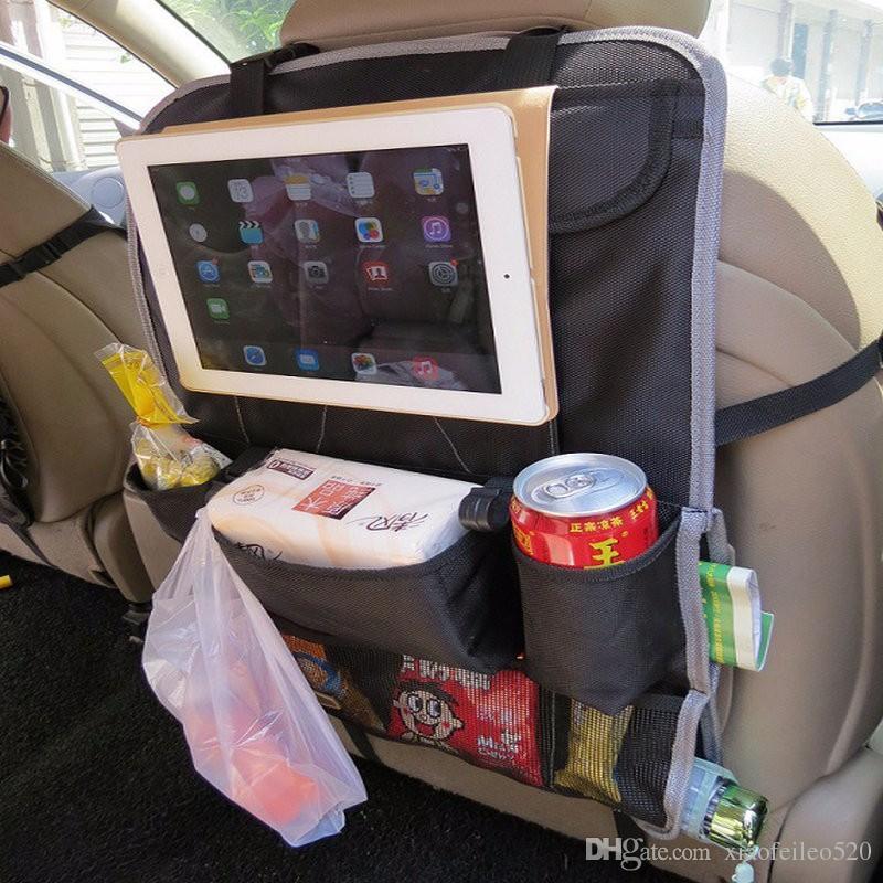 Car Seat Organizer Holder Multi Pocket Travel Storage Hanging Bag ...