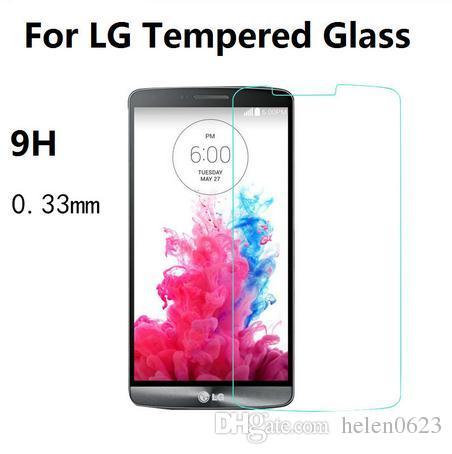 a1e7c0d0dab 0.33mm Premium Tempered Glass For LG G2 G3 Stylus G3S G4 Mini Pro 2 Leon  Magna L Bello Fino Screen Protector Film Glass Screen Protectors Oneplus  Screen ...