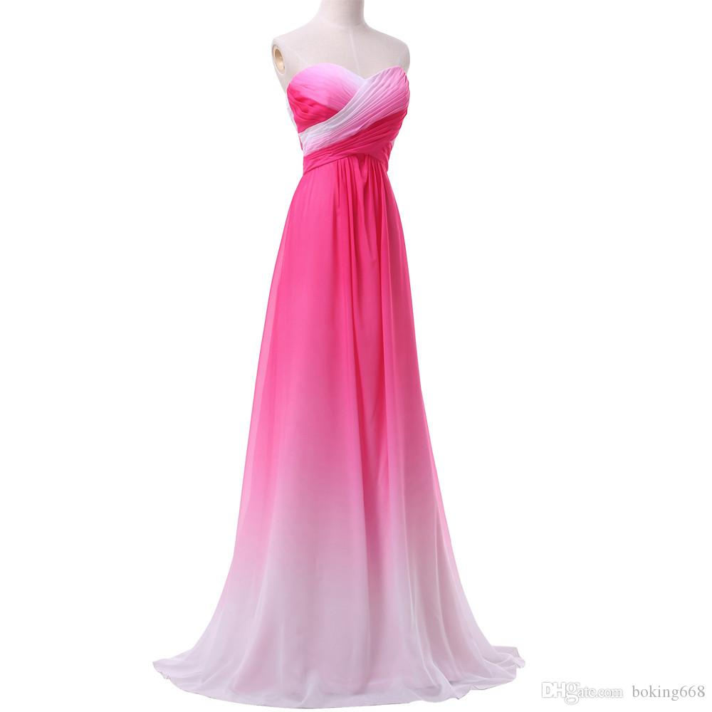 Cheap Shiny Satin Prom Dresses Discount New Prom Dress for Little Girl afa23d4cdc59