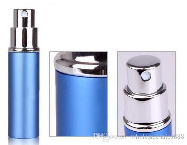 Factory Price 5ml Refillable Perfume Spray Bottle,Alumina and Glass Perfume Atomizer Bottle Spray By DHL