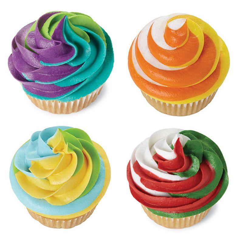 i torta che decora gli attrezzi della glassa Piping crema pasticcera Bag ugello Converter
