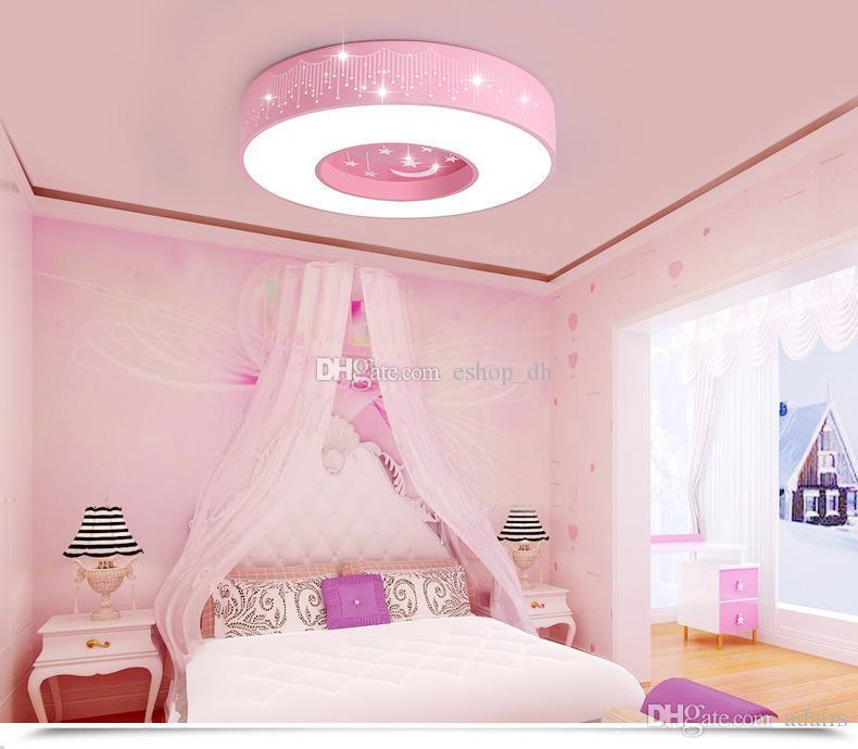 Best Led Ceiling Light Children Room Lights Creative Kindergarten Boy Room  Lights Girl Bedroom Lights Simple Circular Under $95.48 | Dhgate.Com