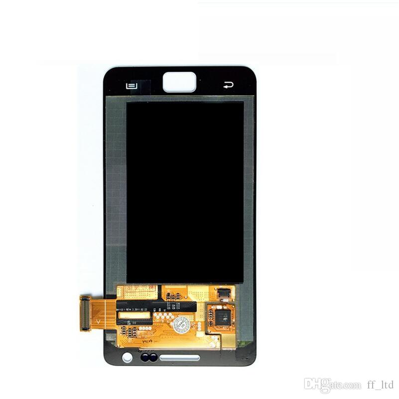 Wholesale LCD Display with Touch Digitizer Screen Replacement for Samsung Galaxy S2 I9100 Original LCD 100% Tested