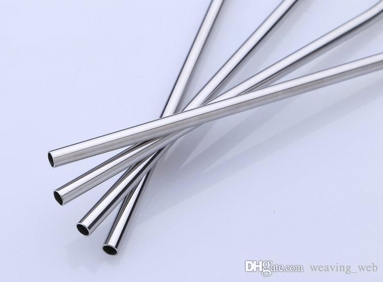 20 Unzen Trinkhalme 30 Unzen Trinkhalme aus Edelstahl Trinkhalme gerade gebogen Sip Well Tumbler Straw Brush