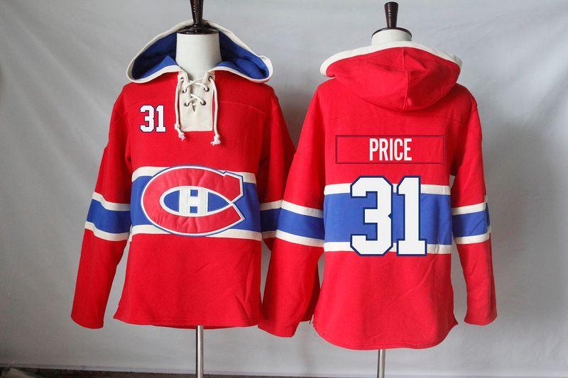 Montreal Canadiens Jerseys Blank 31 Carey Price 14 Tomas Plekanec 67 Max Pacioretty 76 P K Subban Hoodies Sweatshirts
