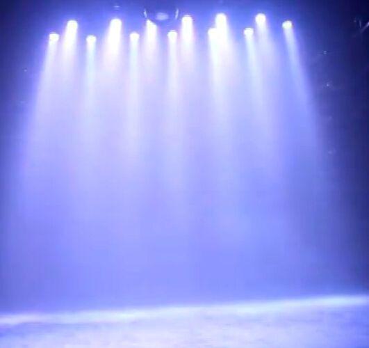 DMX512 12W RGBW LED efecto de la etapa Par Light por activación por voz y control DMX para DJ KTV Bar Disco proyector lámpara de iluminación decoración CE