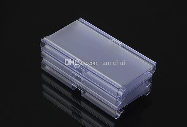 Hot sale clear PVC Price Tag Sign Label Display Holder Thickening For Store Shelf Hook Rack for Supermarket