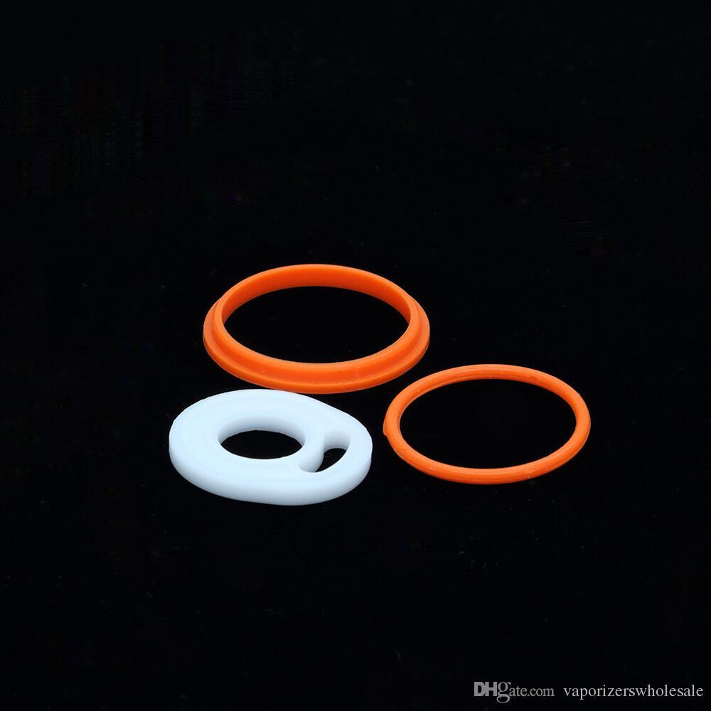 Toptan Smoktech SMOK TFV8 Silikon O-ring contalar TFV8 tankı siyah Yedek Üst Sızdırmazlık Halkası O Yüzük 3 adet set