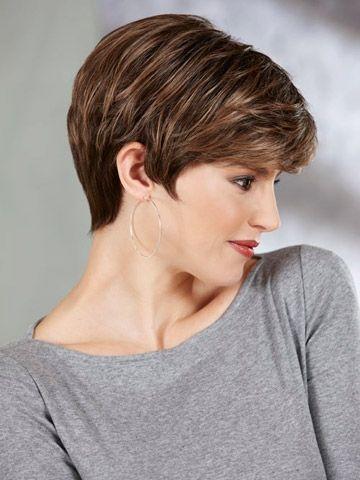 Xiu Zhi Mei Hochwertige Mode Sexy Neue Frisur Hitzebeständige Synthetische Kurze Haare Gerade Braune Perücken Mit Pony Für Schwarze Frauen