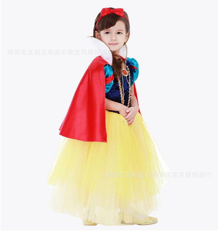 Childrenu0027s Snow White Skirt Girls Christmas Halloween Dress Costume Girl Stage Performance Service Cute Kids Cosplay Gift Children Costumes Children ...  sc 1 st  DHgate.com & Childrenu0027s Snow White Skirt Girls Christmas Halloween Dress Costume ...