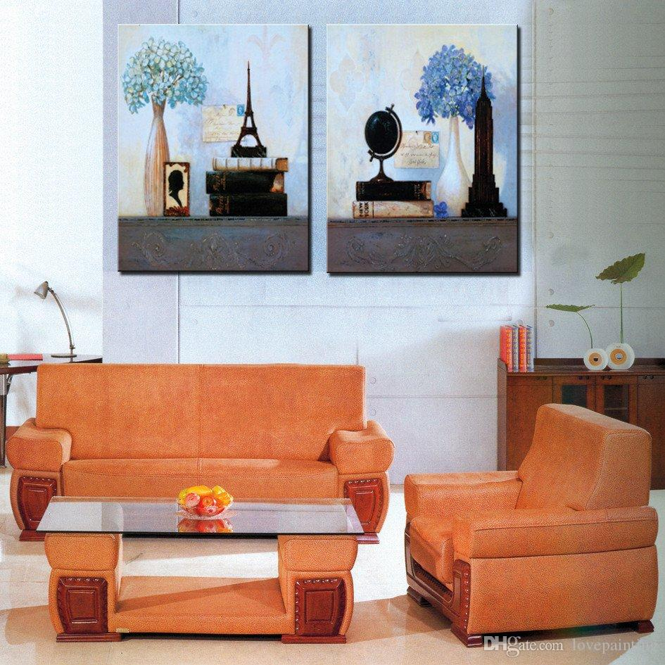 Unframed Canvas Prints bird nest potted flower windowsill globe Shower Buddha rose Coffee specimen Home decoration
