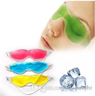 E Femmes Essential Beauté Glace Gogles éliminer les cercles sombres soulager la fatigue des yeux Gel de gel d'oeil masques des yeux Collagen Eye Masque Patch