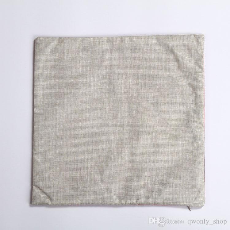 India Skull Pillow Case Cotton Linen Horrible Punk Style Chair Seat Waist 45x45cm Square Pillow Cover Home Textile Living