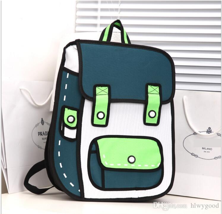 9a8486dffe27 Wholesale Fashion 2D 3D Canvas Bag Comic Gismo Cartoons Bag Camera Backpack  Women Men Unisex Shoulder General Bags Messenger Bags For School Bags For  Sale ...