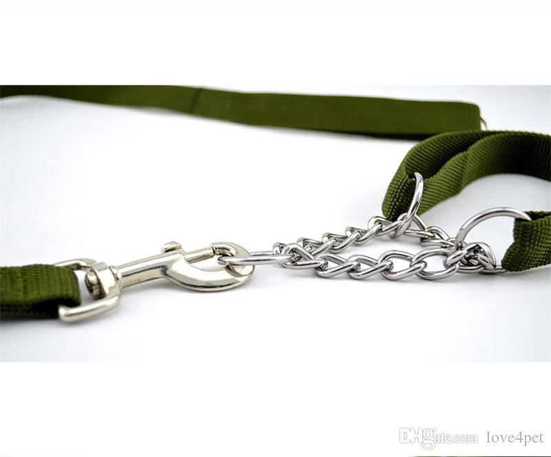 E40 Armygreen nylon coleira de cachorro e trelas conjunto New arrival dog collar treas frete grátis